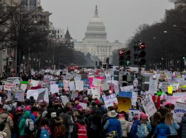 Let's Go Stamp Our Feet – Women's March